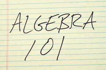 Algebra – Grade 6